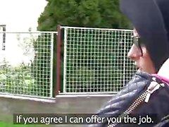 PublicAgent Moda öğrenci bir yabancı sikikleri