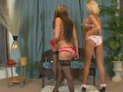 Tushylickers - 3 hot girls licking