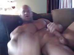 Muscle Brad Edges Jerks & Cums in Cam