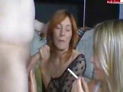 SmokingWhore Presents : Vicky och Disa i SmokingWhores # sex