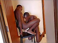 Black Boys Alguns Quickie boquete e Bareback