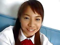 Aziatische gat masturbatie voor een camera