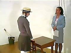 Pigtail Schoolgirl Punished