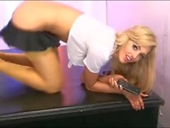 Delia Rose - Recorded Call Blonde Slut