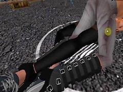 Kaede vs Ira Second Life catfight