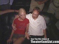 Carla Swallowing Complete Strangers Cum