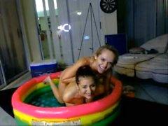 two webcams models nude jello wrestling