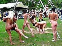 Verrücktes Nackte -Party WOWW