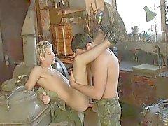 In het leger