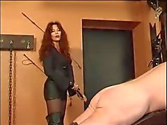 Excellent Russian Mistress Session