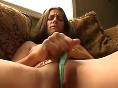 Sexy slim young amateur uses her favorite sex toys to reach her climax