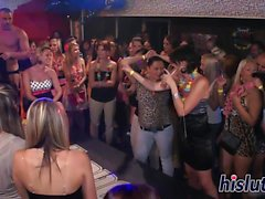 Sexy bitches get nailed at a party
