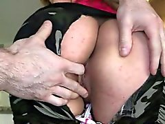 Red hot Carmen Ross lets her huge ass wiggles while fucking