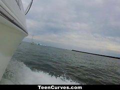 TeenCurves Big Ass Kelsi Monroe Fucked On Boat