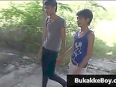 Asiatici gay a porn video Threesome