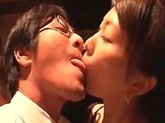 Sexy Asian babes are manhandled and fingered in cunt and as