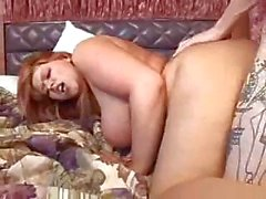 Eden 38dd Fucks On The Bed