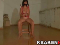 Krakenhot amateur submission casting with a mature woman
