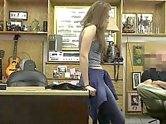 Sexy Shoes In The Pawnshop Leads To Naughtiness
