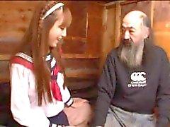 Ein japanisches jugendlich gefälliges alte Männer