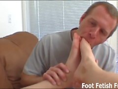 Let me give you a nice footjob