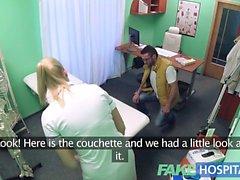 Sahte Hastane hemşirelerin her yanına handyman cums kiraladı