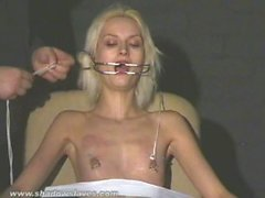 Cruel amateur bdsm and needle tit tortures