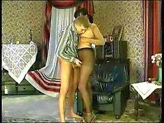 Pervert dude adores pantyhose
