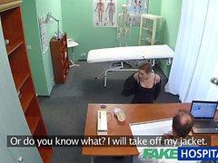 FakeHospital Lääkäri saa juuri sitä mitä hänen Halusimme potilasnäytteistä