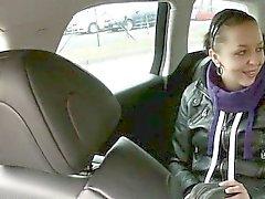 Amateur Правила форума doggied на заднем сиденье путем извращенца водителя
