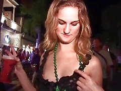 Key West Festival Called Fantasy Fest Swingers Naked Partying in the Street