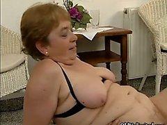 Nasty mature slut goes crazy sucking part4