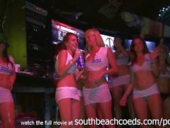 simply amazing spring break strip contest with gorgeous college amateurs