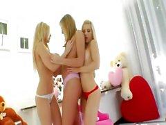 Three incredible blondes smoke prolapse