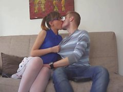 Nerd Girl rather plays with Russian Guy instead PlayStation