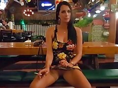Live Concert in Miami - Public pissing, upskirt, pussy, fucking & Creampie