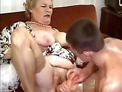 Old Mature Granny Fucked