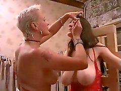 Meninas BDSM jogar