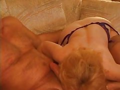 Kitty Foxx - Threeway with a Granny