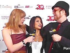 PornhubTV Veronica Rodriguez Red Carpet Interview 2013 AVN Awards