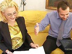 Seksi bir Zeiten Im Büro - bir sahne 2