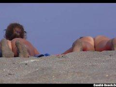 Beach Nude Milfs Voyeur HD Scenes