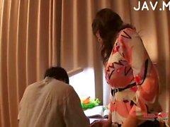 Di titty Giappone si cazzo dentro sua figa peloso