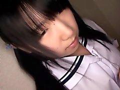 Menuda juguete alumnas japoneses estimulada