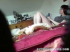 Quick morning masturbation my mum