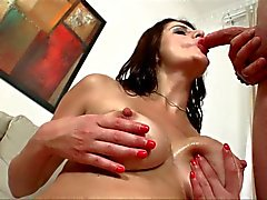 MILF babe gives some lessons in love