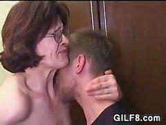Ganny Wants Her Horny Step-Grandson
