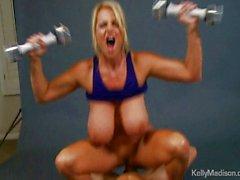 Kelly Madison Promotes The Jack Weight