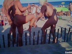 Horny Nudist Milfs Having Fun at Nude Beach Voyeur HD SPycam
