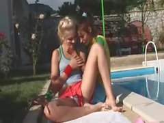 Vika and Natasha russians eating cunts